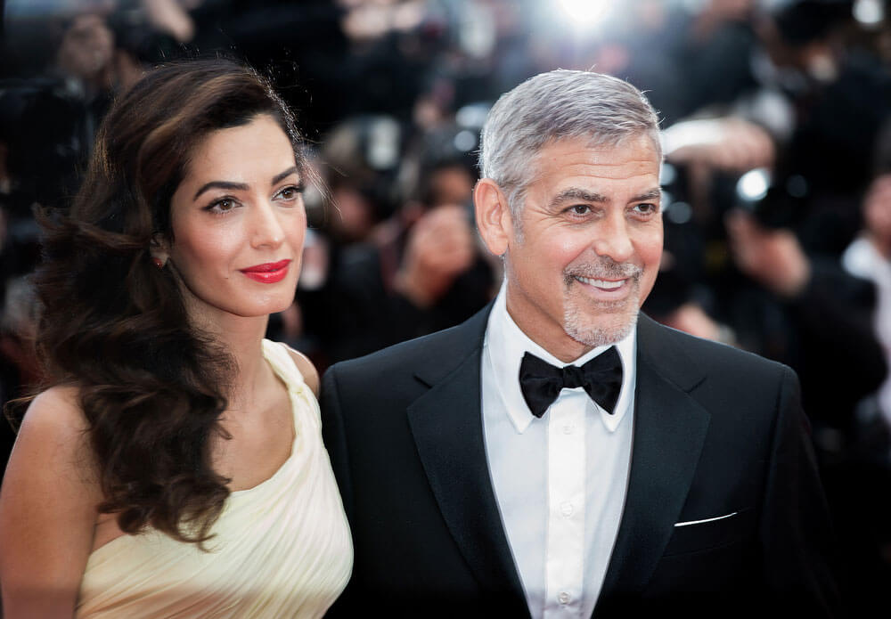 George Clooney Amal Cannes film festival 2016